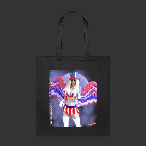 Undead Angels By Moonlight: Vampire Aunt Samantha - Tote Bag