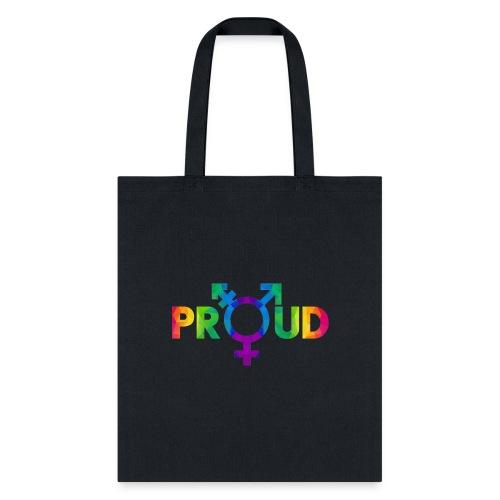 LGBT Proud (Rainbow 2) - Tote Bag