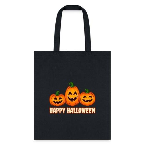 Happy Halloween Pumpkin Squad | Jack O' Lantern - Tote Bag