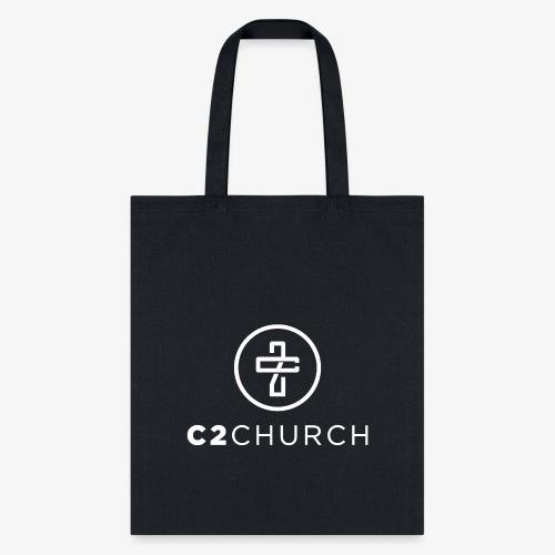 C2 Church Merch with Name (White) - Tote Bag