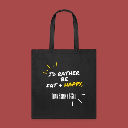 Fat & Happy Official Gear - Tote Bag