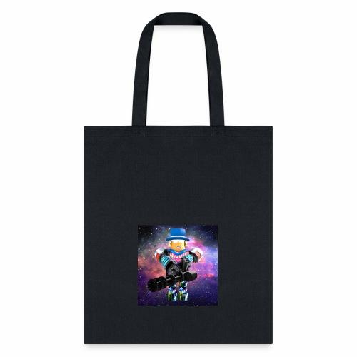 sean roblox character with minigun - Tote Bag