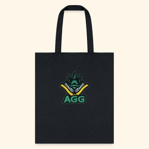 AGG Logo Text Transparent - Tote Bag