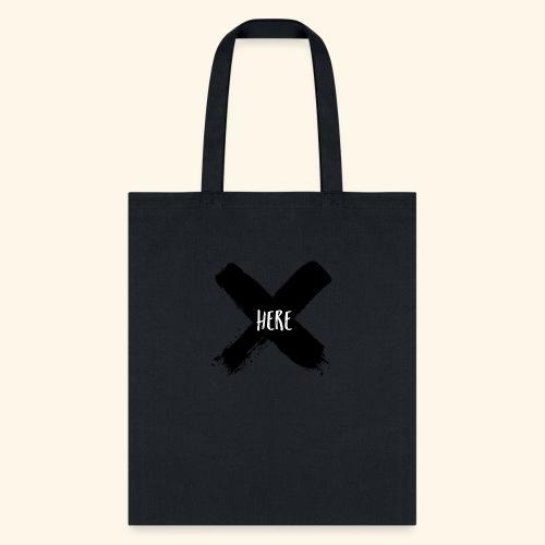 Black X - Tote Bag