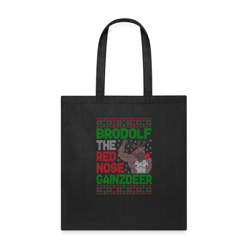 Brodolf The Red Nose Gainzdeer - Tote Bag