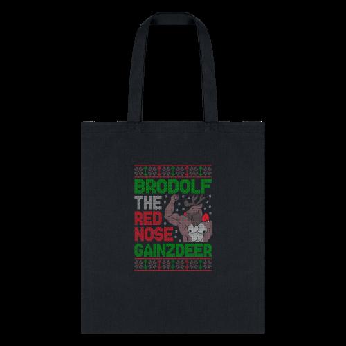 Brodolf The Red Nose Gainzdeer - Tote Bag