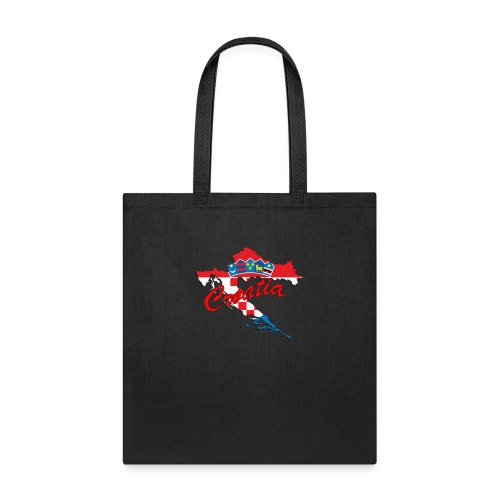 Croatia Football Team Colours T-Shirt Treasure Des - Tote Bag