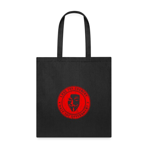 red love thy country - Tote Bag
