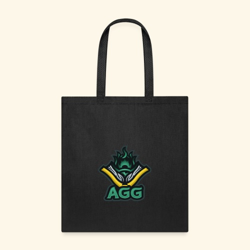AGG Logo Text Transparent - Tote Bag
