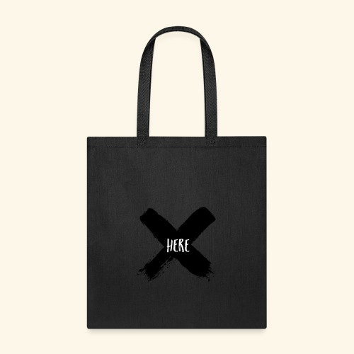 Black X - Tote Bag