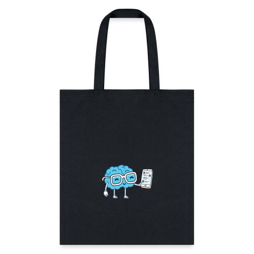 Cartoon Brain - Tote Bag