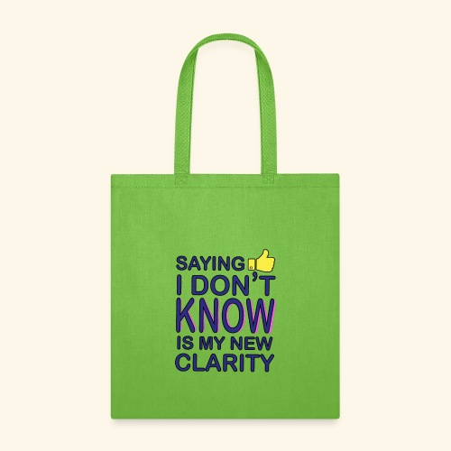 new clarity - Tote Bag