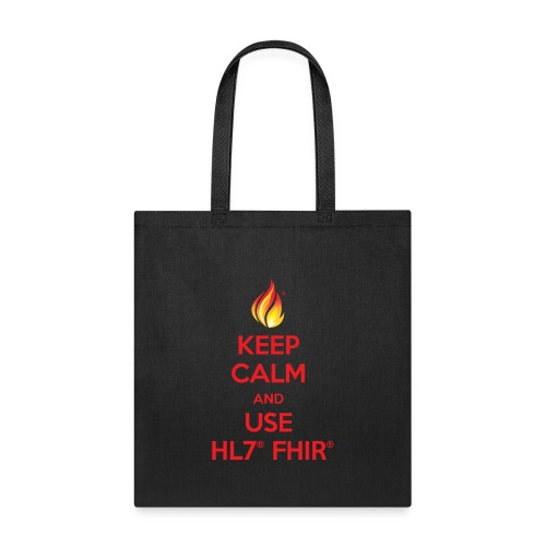 Keep Calm Use FHIR - Tote Bag