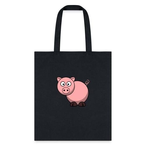 Funny Pig T-Shirt - Tote Bag