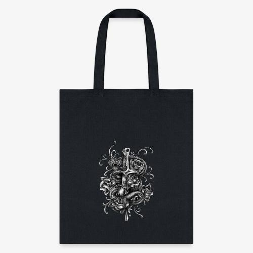 Dagger And Snake - Tote Bag