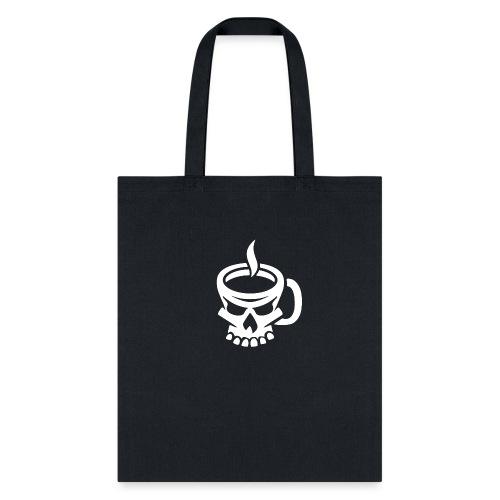 Caffeinated Coffee Skull - Tote Bag