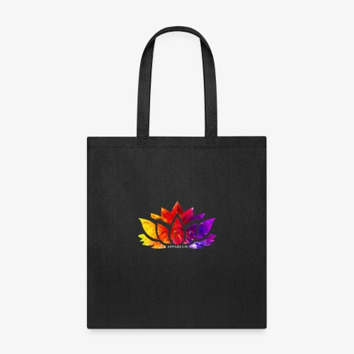 Multicolor Lotus - Tote Bag