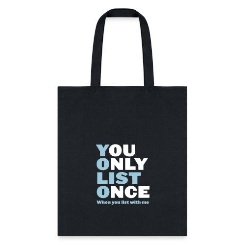 List Once - Tote Bag