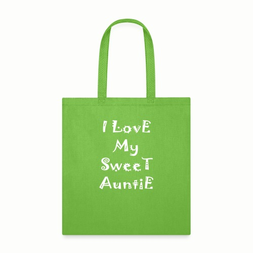 I love my sweet auntie - Tote Bag