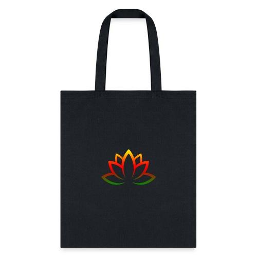 Lotus colorful - Tote Bag