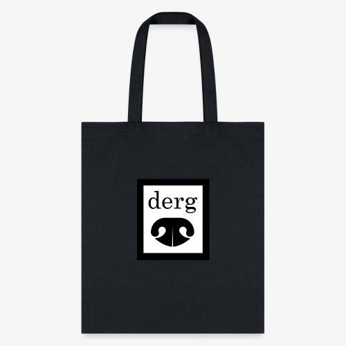 Black and white derg. - Tote Bag