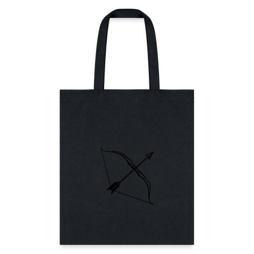 bow and arrow 3 - Tote Bag