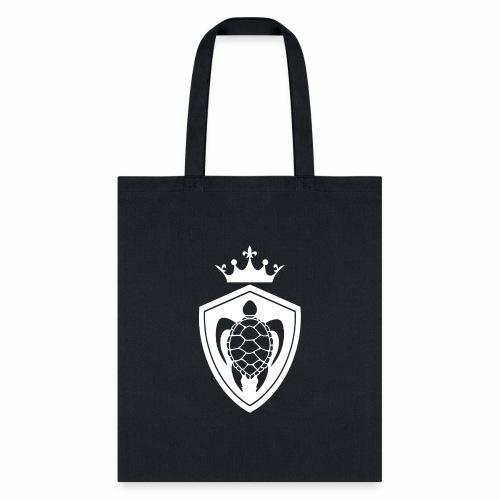 TurtleCrownWhite - Tote Bag