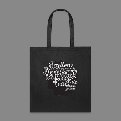 Afro Text II - Tote Bag
