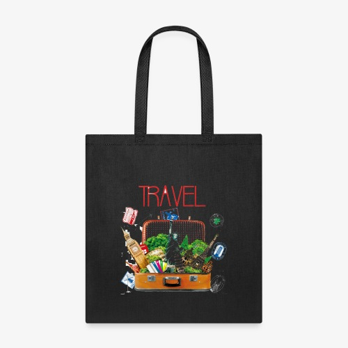 TRAVEL T-SHIRT - Tote Bag