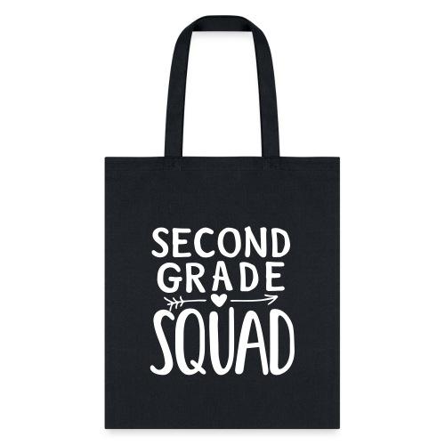 Second Grade Squad Teacher Team T-Shirts - Tote Bag