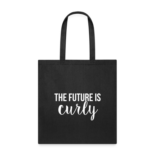 The Future Is Curly - Tote Bag