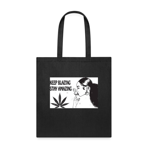 Keepblazin - Tote Bag