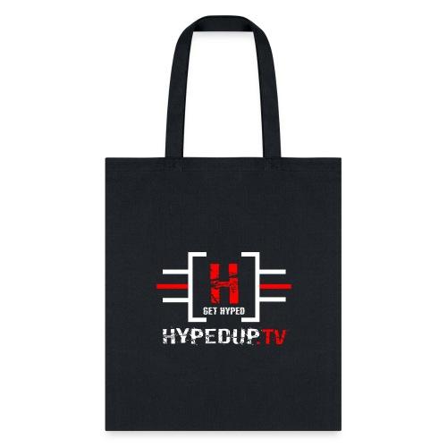 HypedUpTV Red/White - Tote Bag