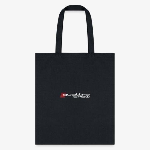 Quattro Crew - Light logo - Tote Bag