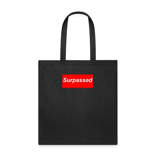surpassed logo - Tote Bag
