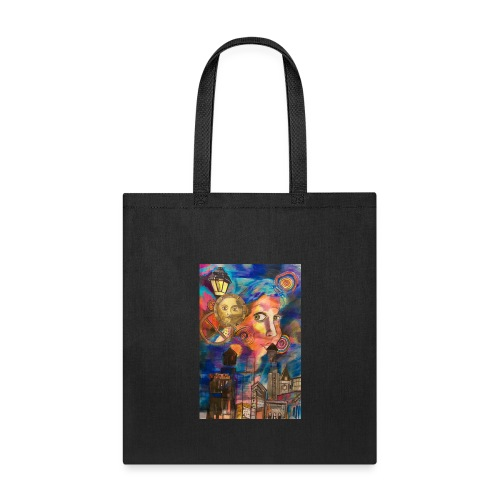 Ghosts of Cities Past Art by Timothy Leistner - Tote Bag