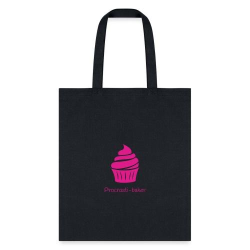 Procrasti-baker - pink - Tote Bag
