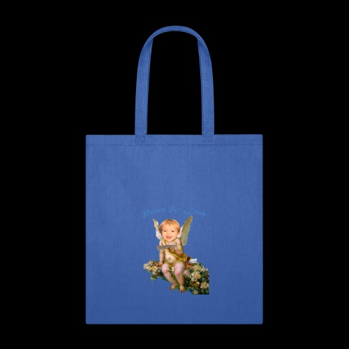 Peace and Love - Tote Bag