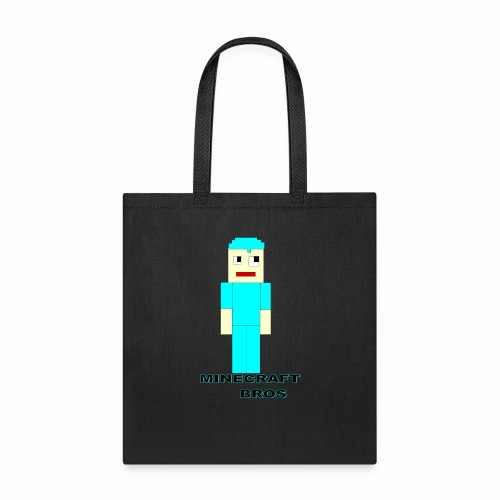 minecraftbros logo9 - Tote Bag