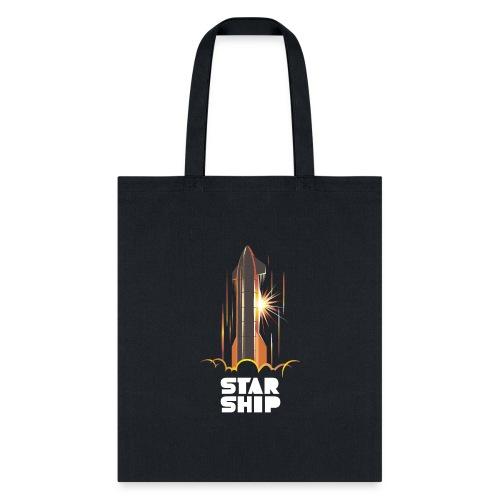 Star Ship Mars - Dark - Tote Bag