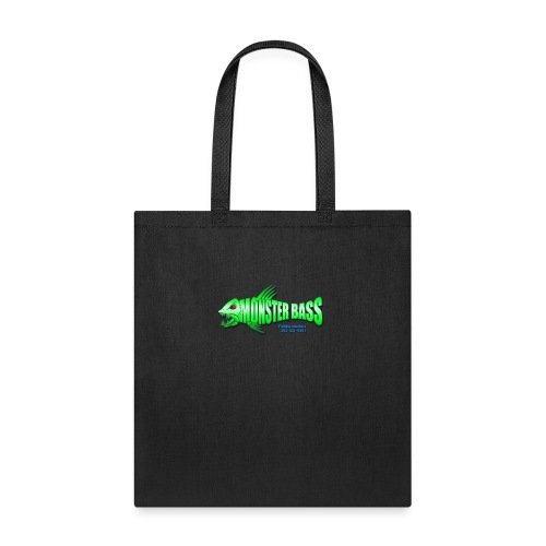 Monster bass fishing charters - Tote Bag