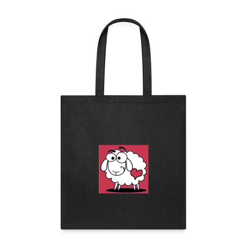 SimAlley Red Sheepy Logo - Tote Bag