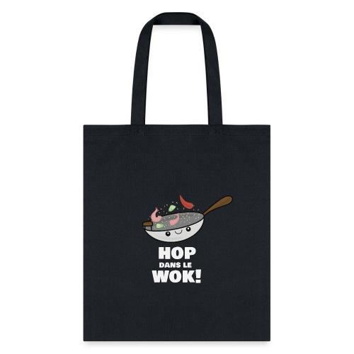 Logo Hop dans le Wok - Sac fourre-tout