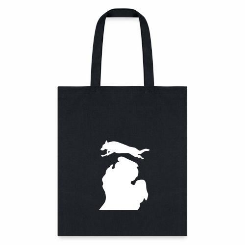 German Shepherd Michigan womens shirt - Tote Bag