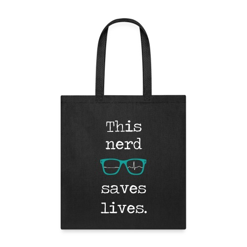 This nerd saves lives - Tote Bag