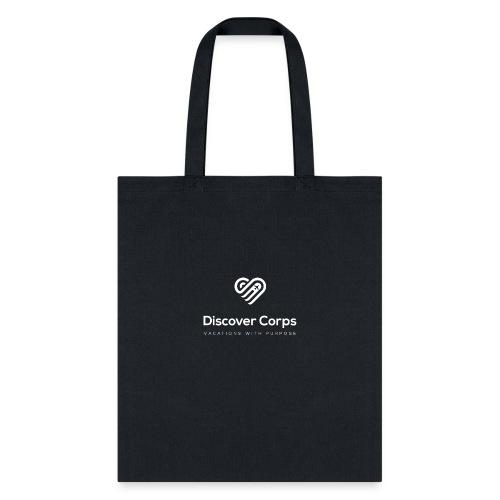 DiscoverCorp Logo Vertical Rev High - Tote Bag