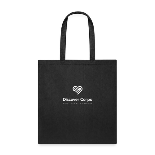 DiscoverCorp Logo Vertical Rev High - Tote Bag