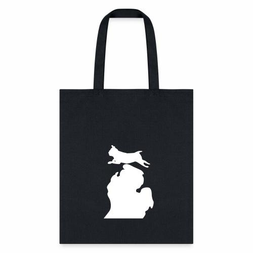 Pug Bark Michigan - Tote Bag