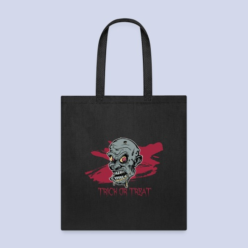 Halloween Zombie Trick or Treat - Tote Bag