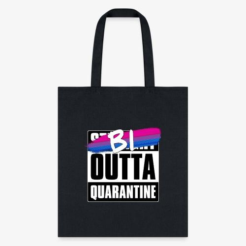 Bi Outta Quarantine - Bisexual Pride - Tote Bag